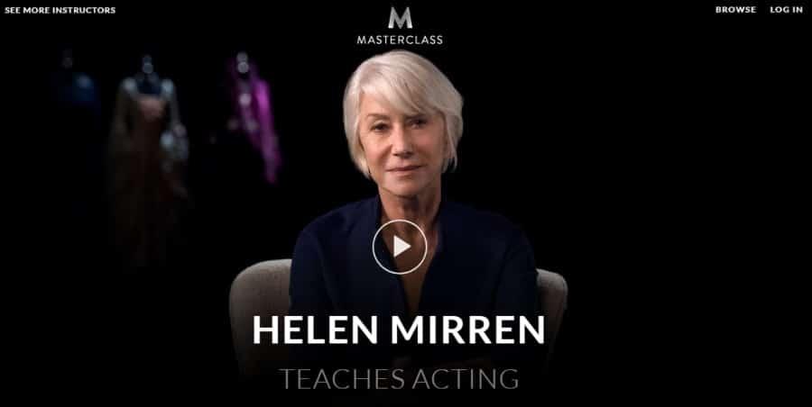 Masterclass_ Helen Mirren Teaches Acting