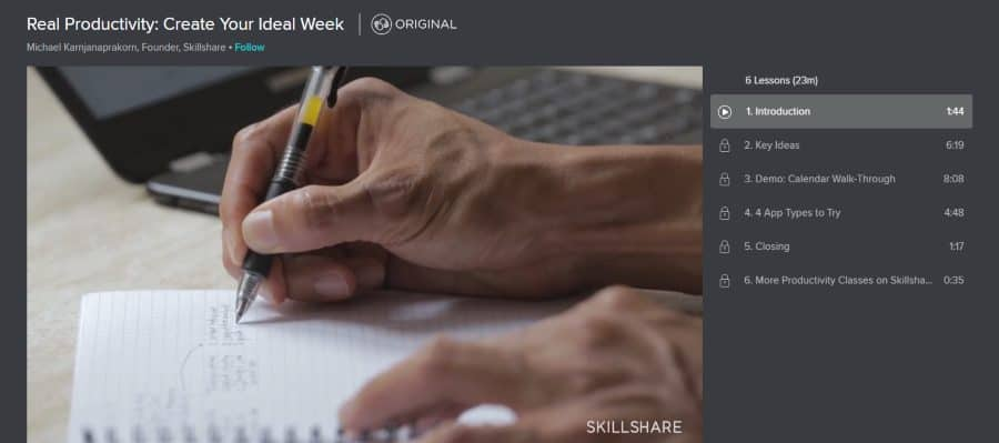 Real Productivity: Create Your Ideal Week