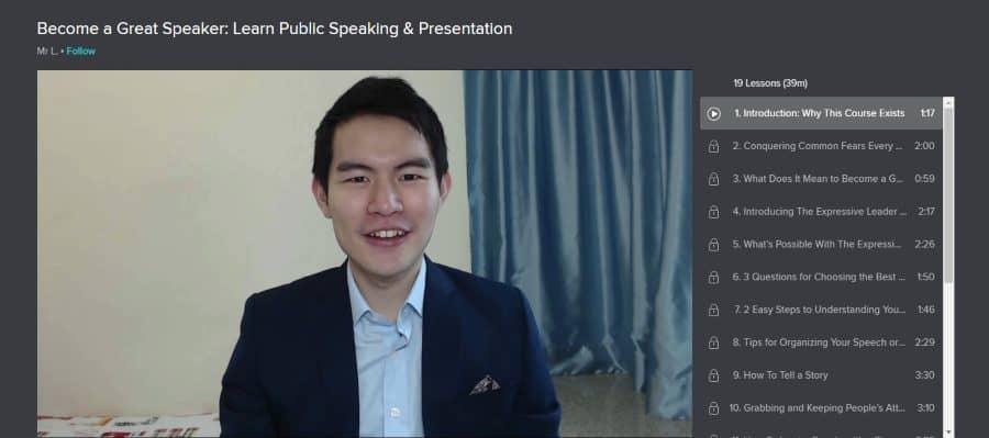 Skillshare: Become a Great Speaker: Learn Public Speaking & Presentation