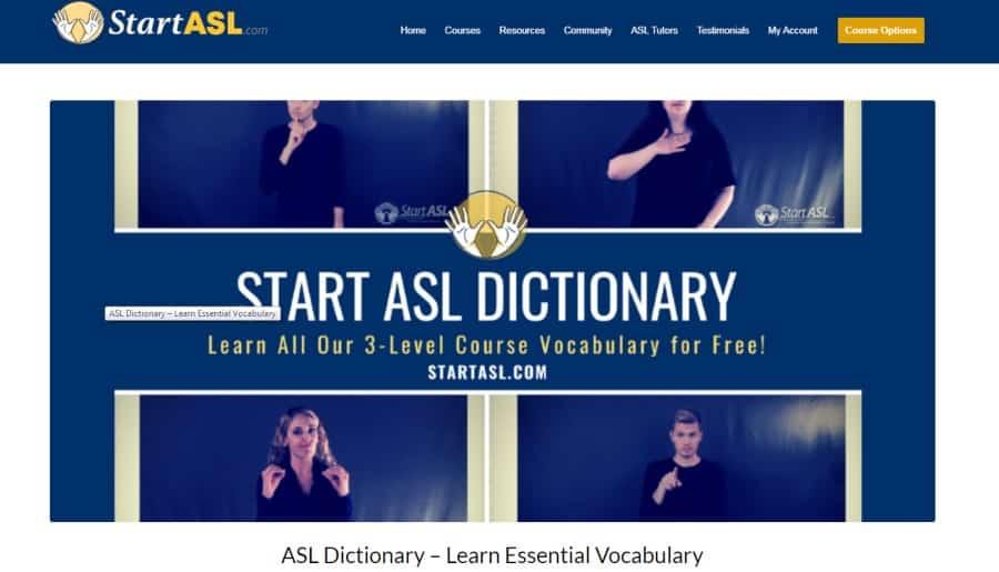 Start ASL