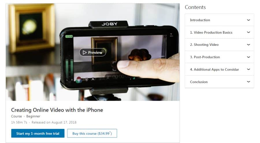 Creating Online Video with the iPhone