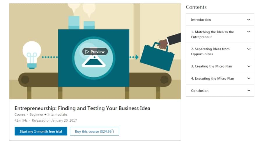 Entrepreneurship: Finding and Testing Your Business Idea