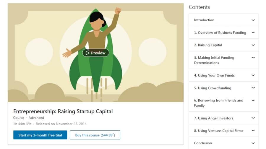 Entrepreneurship: Raising Startup Capital