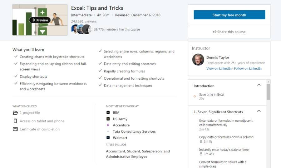 Excel: Tips & Tricks