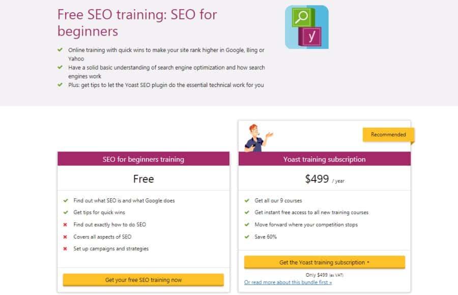 Free SEO training: SEO for beginners