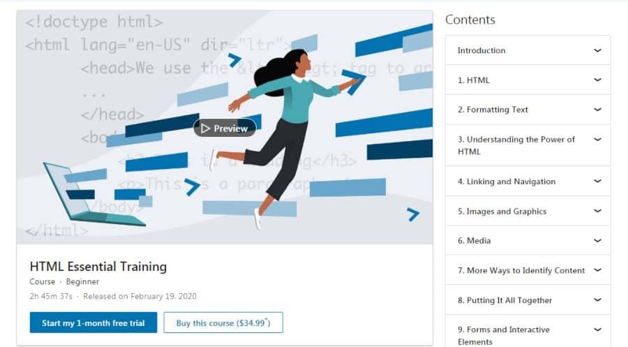 HTML Essential Training