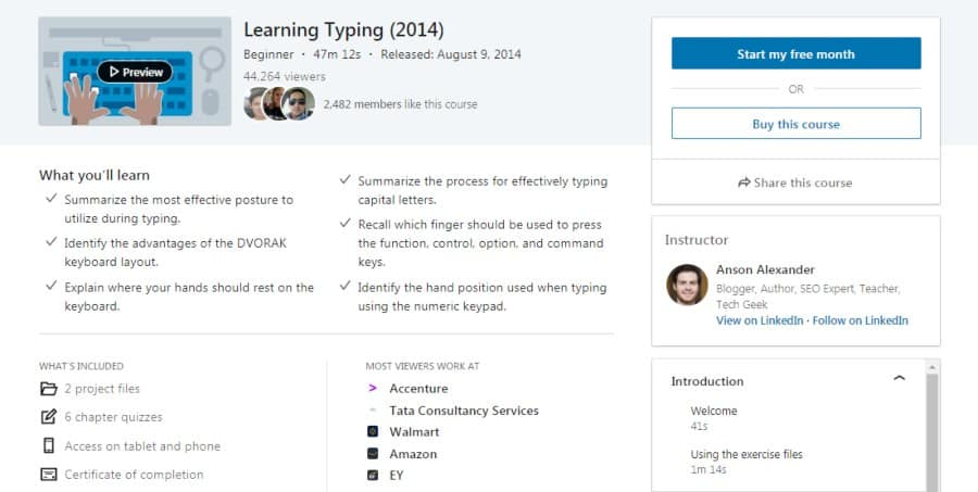 Learning Typing