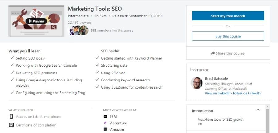 Marketing Tools: SEO