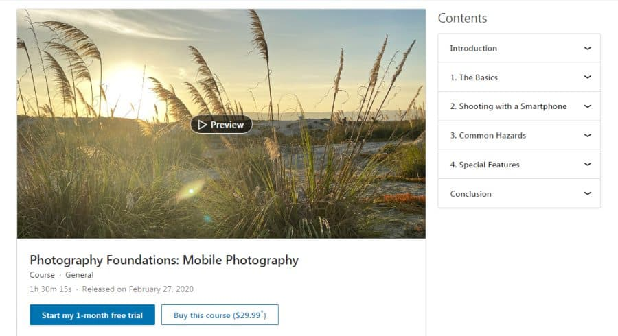 Photography Foundations: Mobile Photography