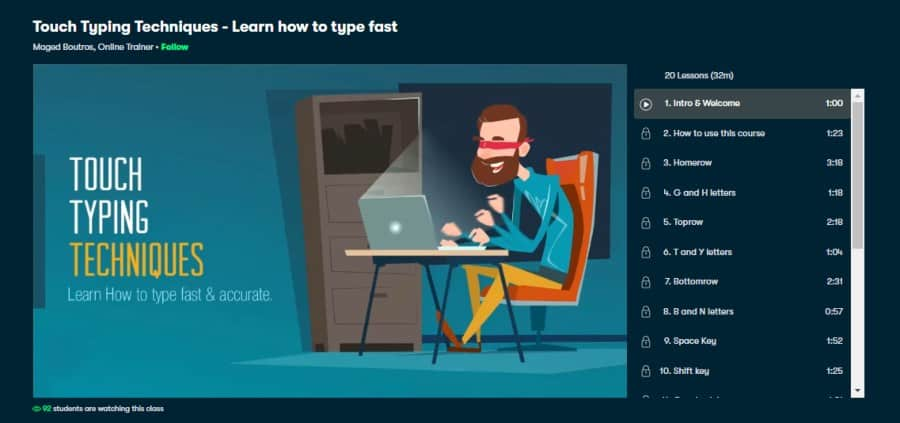 Touch Typing Techniques - Learn how to type fast