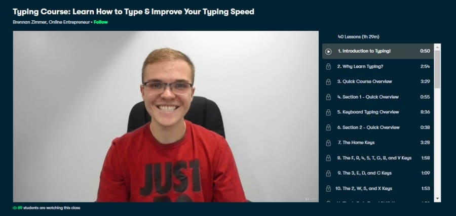 Typing Course: Learn How to Type & Improve Your Typing Speed