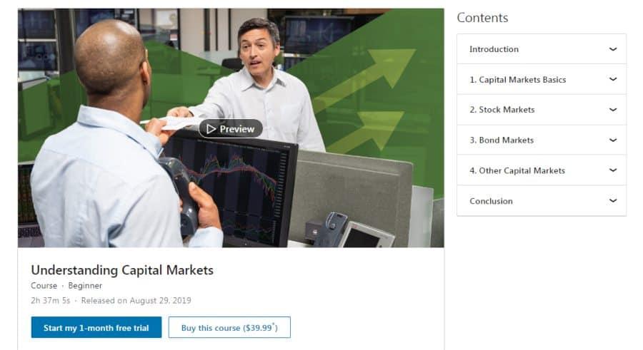 Understanding Capital Markets