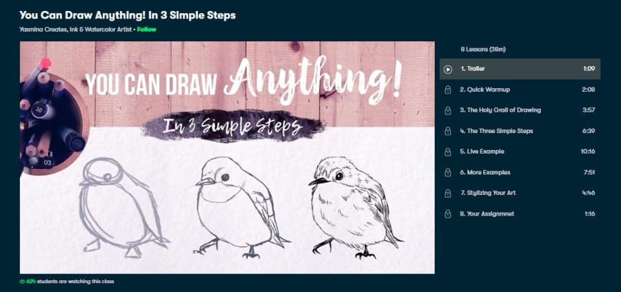 You Can Draw Anything! In 3 Simple Steps