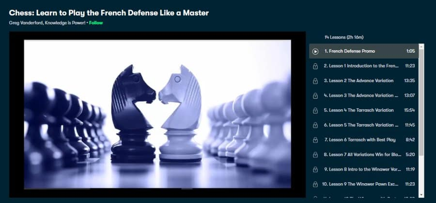 Chess: Learn to Play the French Defense Like a Master