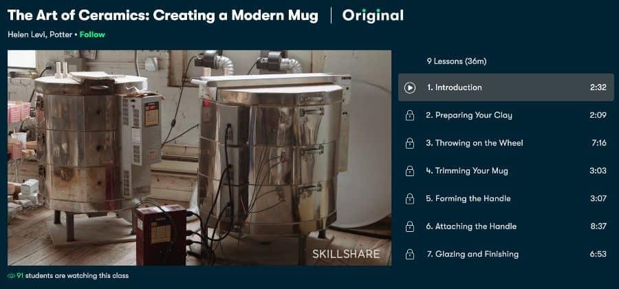 Course: The Art of Ceramics: Creating a Modern Mug