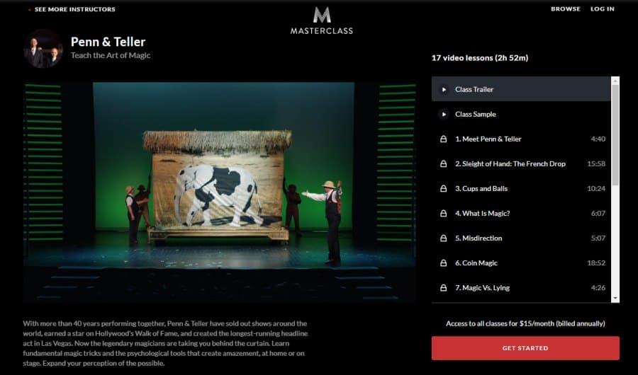 Penn & Teller: Teach the Art of Magic