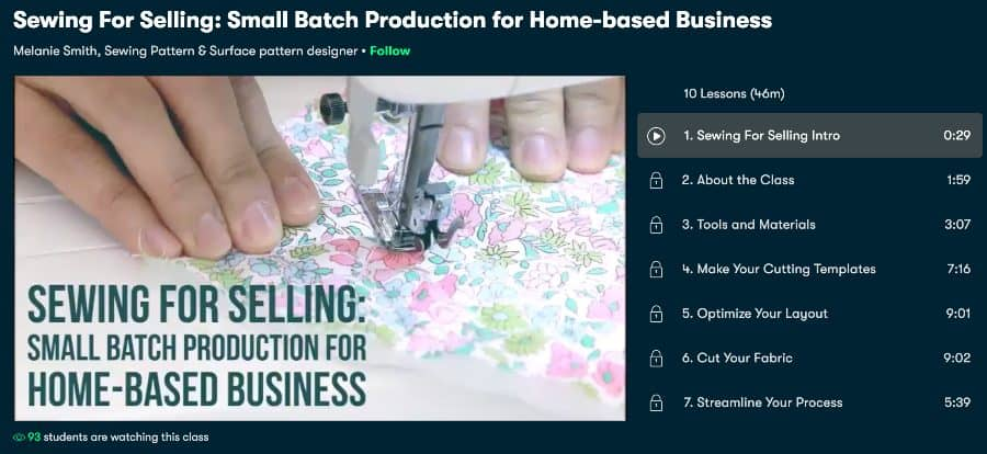 all Batch Production for Home-based Business(SkillShare)
