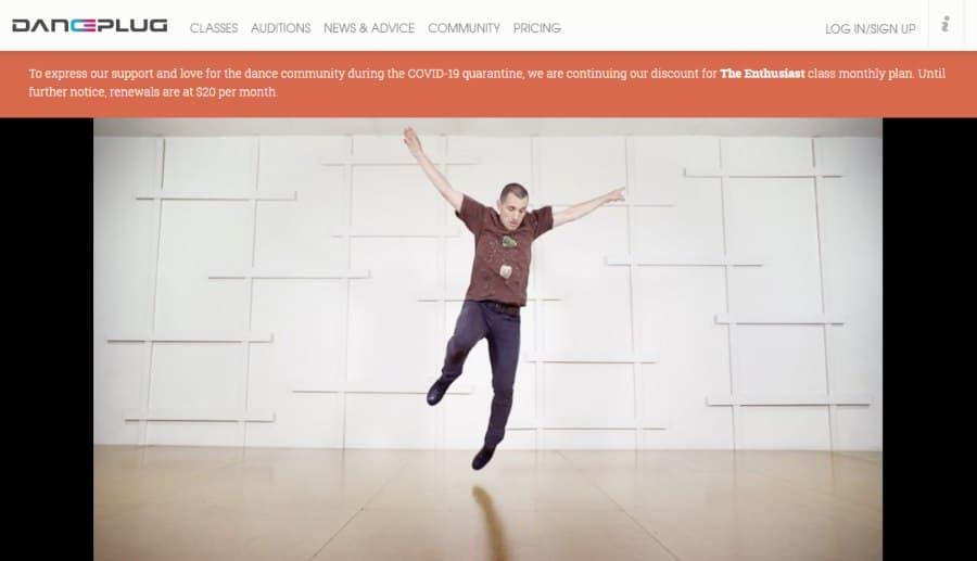 Course Platform: DancePlug Class: 'Shuffle/Tripflap' Tap Dance Tutorial