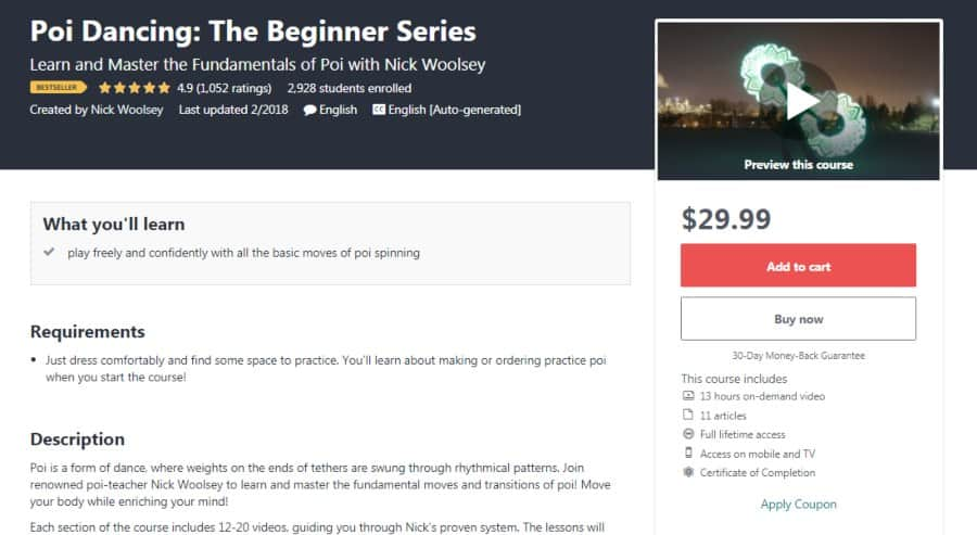 Course: Poi Dancing: The Beginner Series