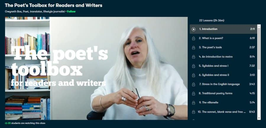 The Poet's Toolbox for Readers and Writers