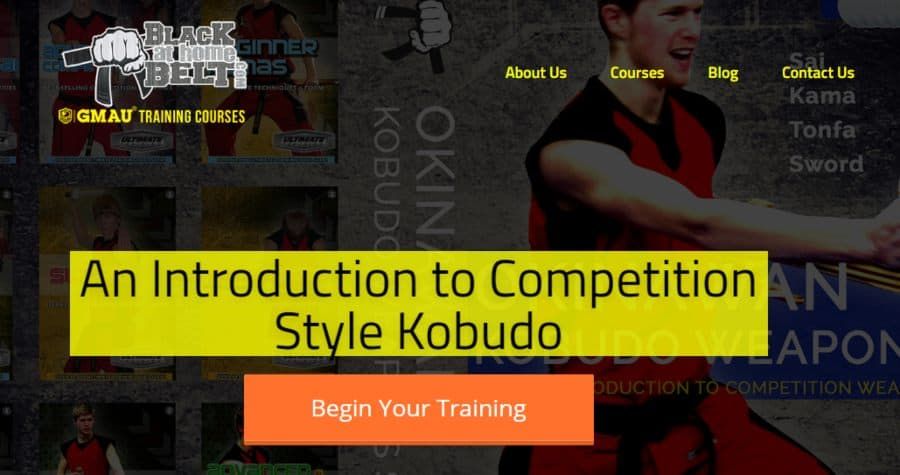 An Introduction to Competition Style Kobudo
