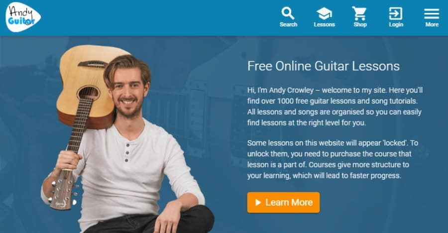 Andy Guitar Beginner Course