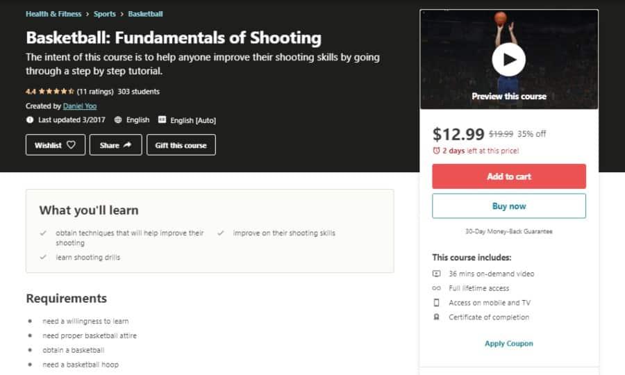 Basketball: Fundamentals of Shooting