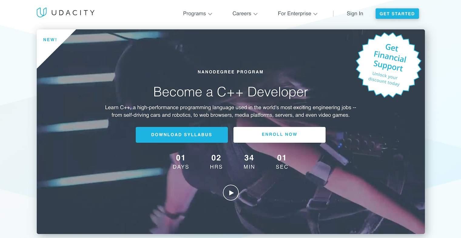 Become a C++ Developer (Udacity)