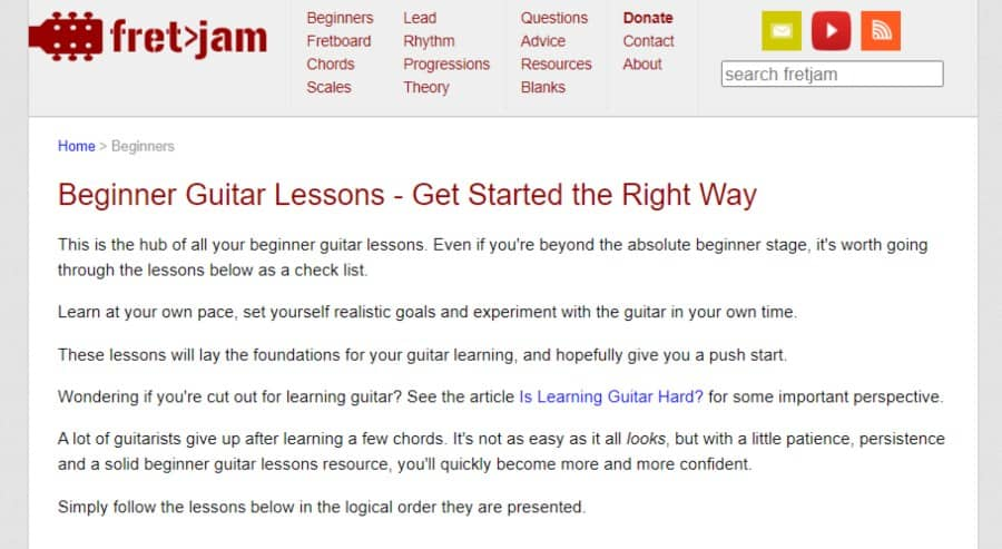 Beginner Guitar Lessons - Get Started the Right Way