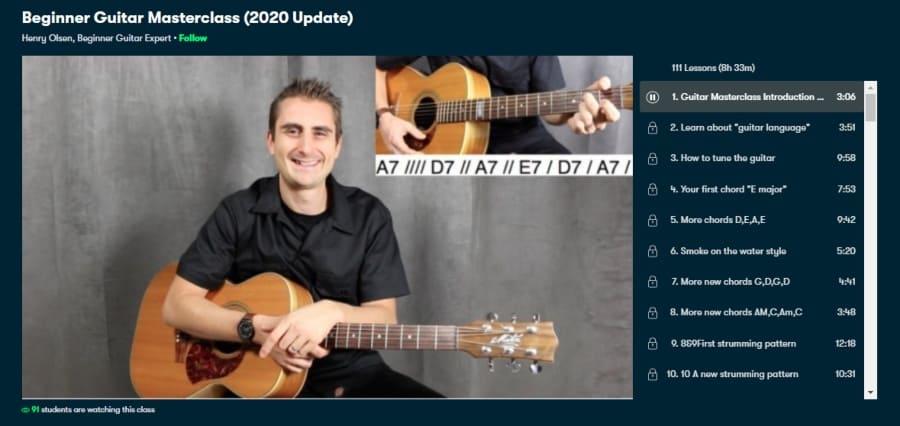 Beginner Guitar Masterclass (2020 Update)