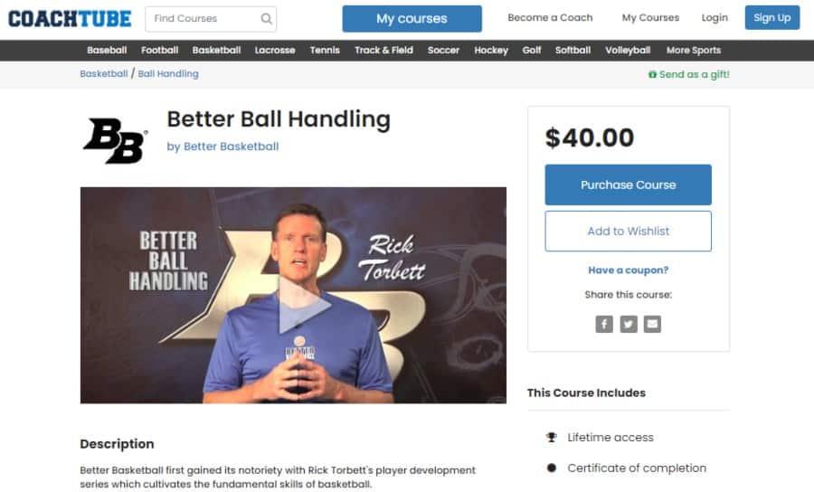 Better Ball Handling