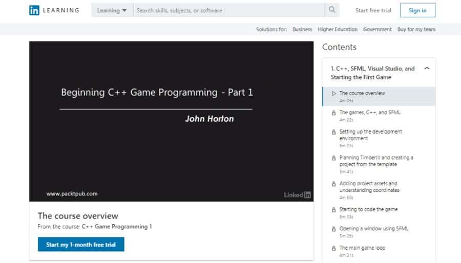 C++ Game Programming