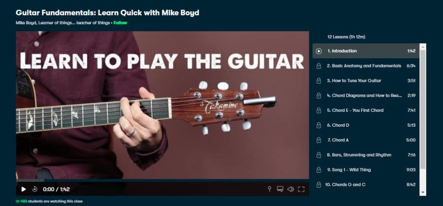 Guitar Fundamentals: Learn Quick with Mike Boyd
