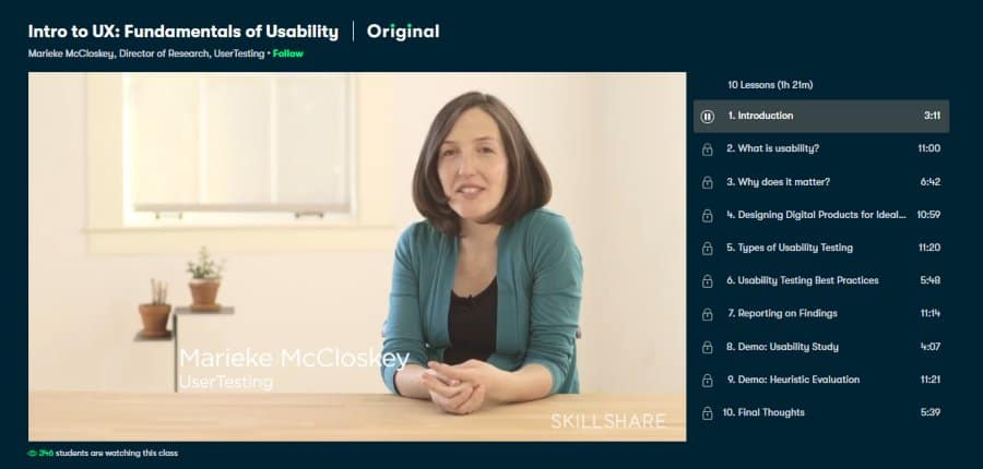 Intro to UX: Fundamentals of Usability