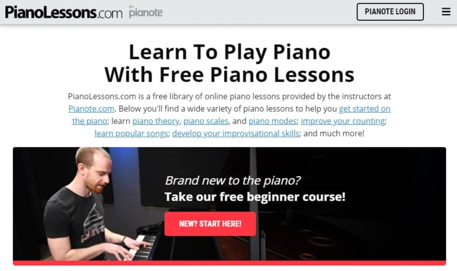 Learn To Play Piano With Free Piano Lessons