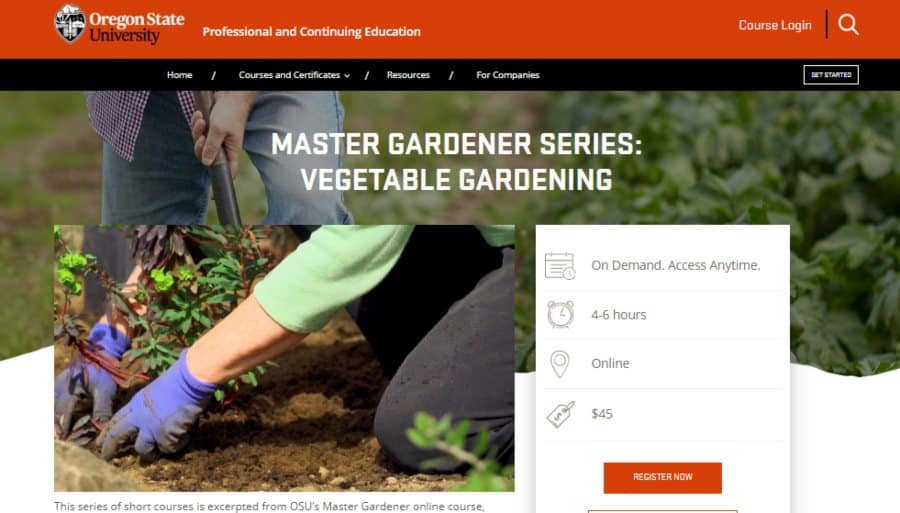 Master Gardener Series: Vegetable Gardening