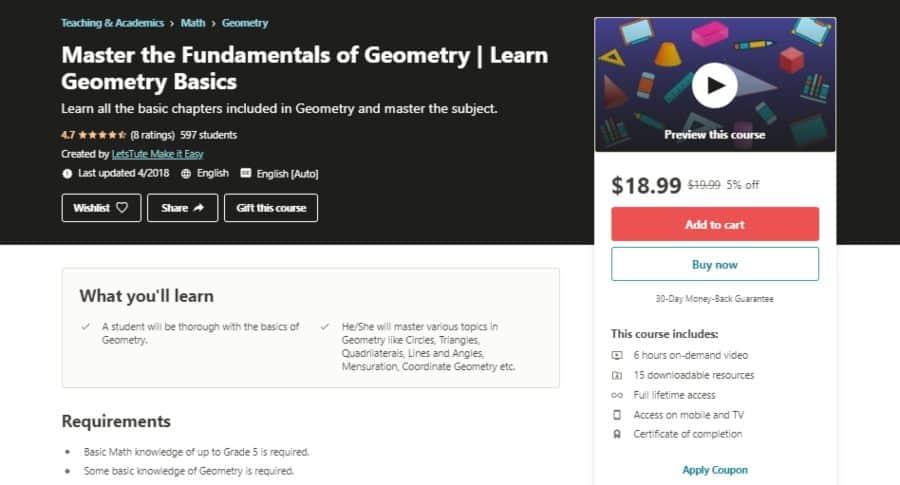 Master the Fundamentals of Geometry   Learn Geometry Basics
