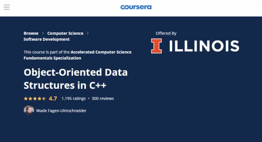 Object-Oriented Data Structures in C++