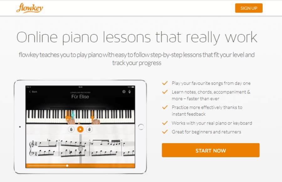 Online piano lessons that really work