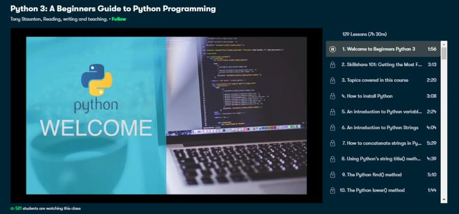 Python 3: A Beginner's Guide to Python Programming