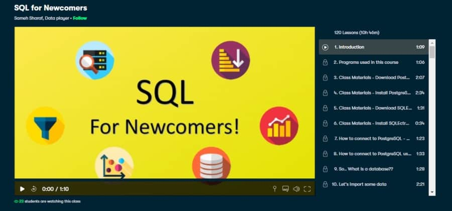 SQL for Newcomers