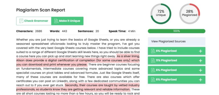 Top 11+ Best Free Plagiarism Checkers For Teachers & Students