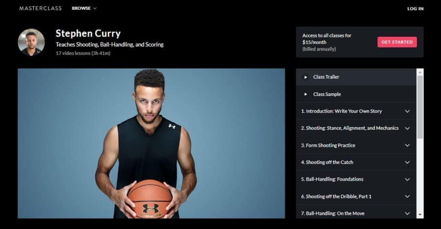 Stephen Curry Teaches Shooting, Ball-Handling, and Scoring