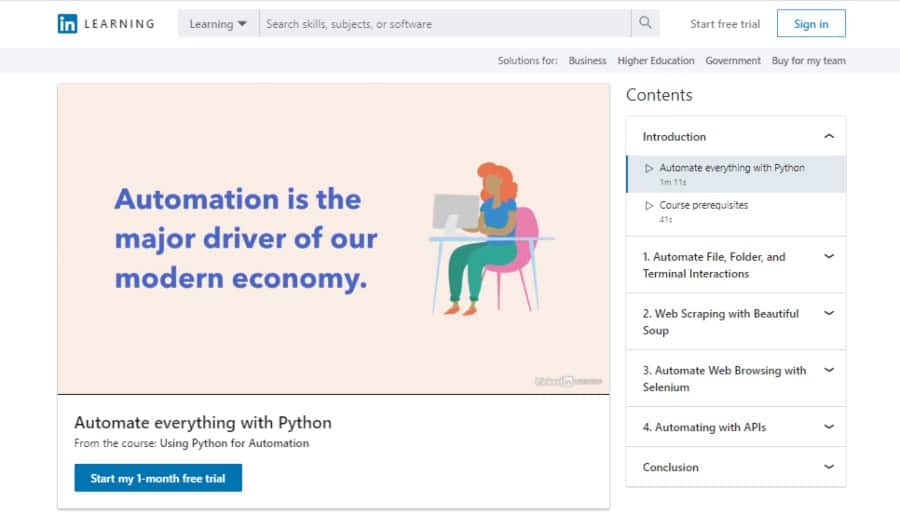 Using Python for Automation
