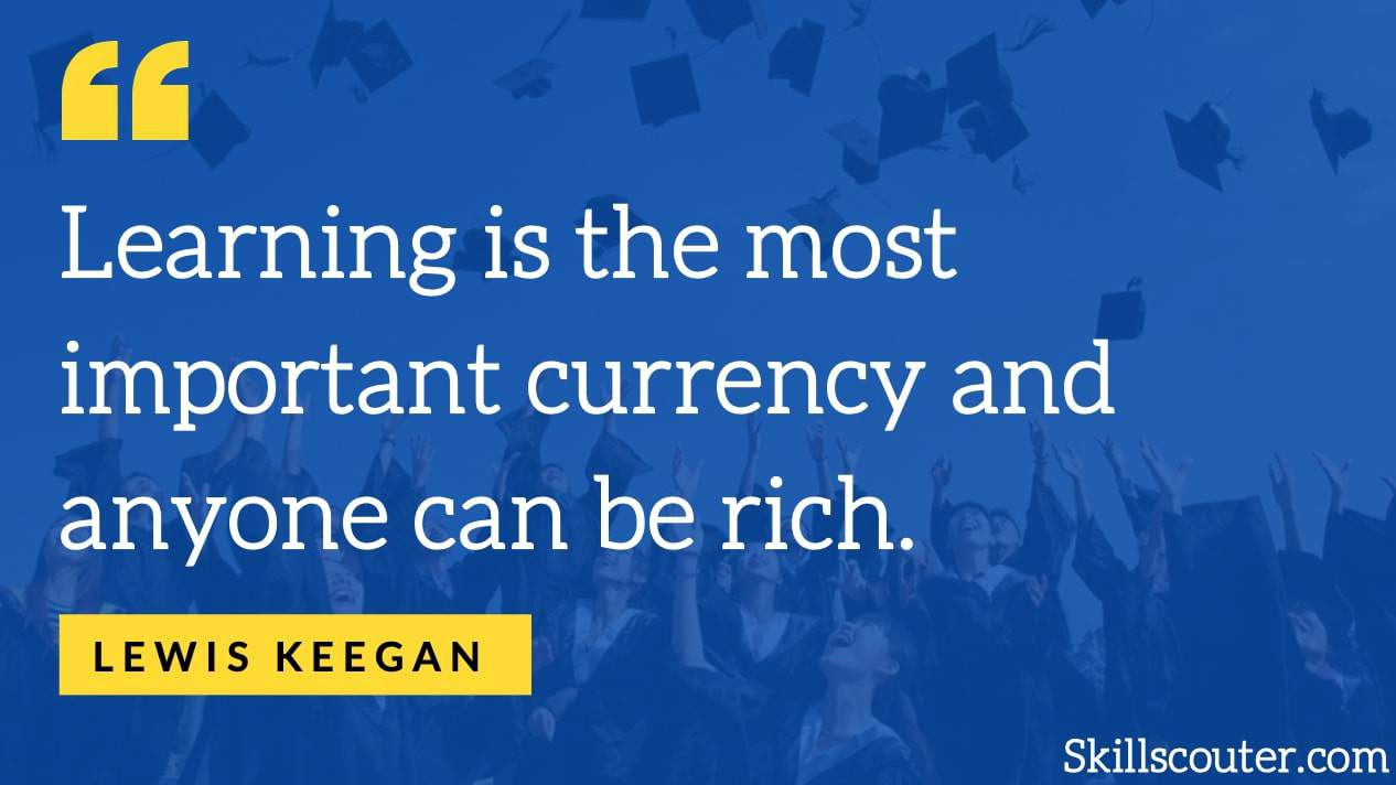 lewis keegan learning quote