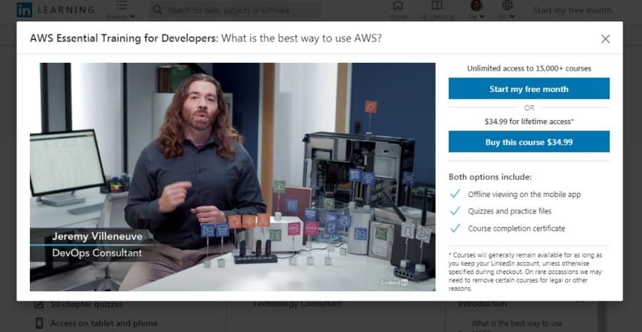 AWS Essential Training for Developers