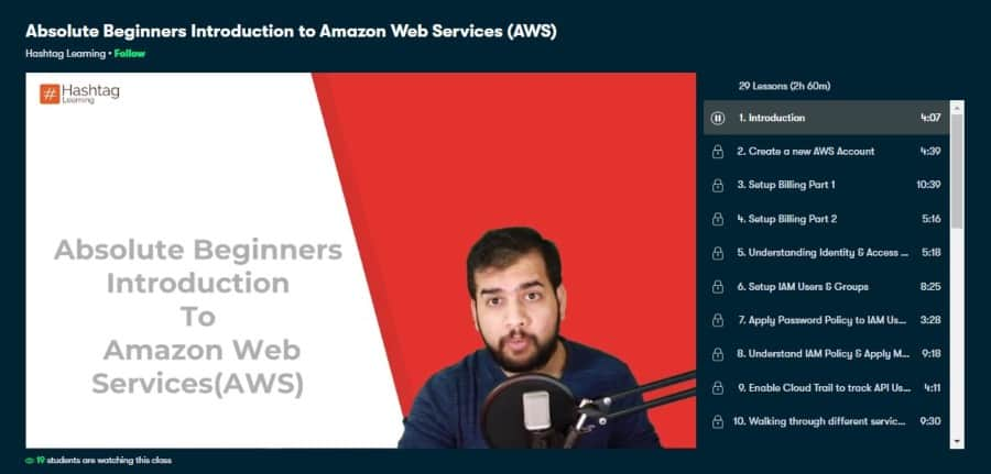 Absolute Beginners Introduction to Amazon Web Services - AWS