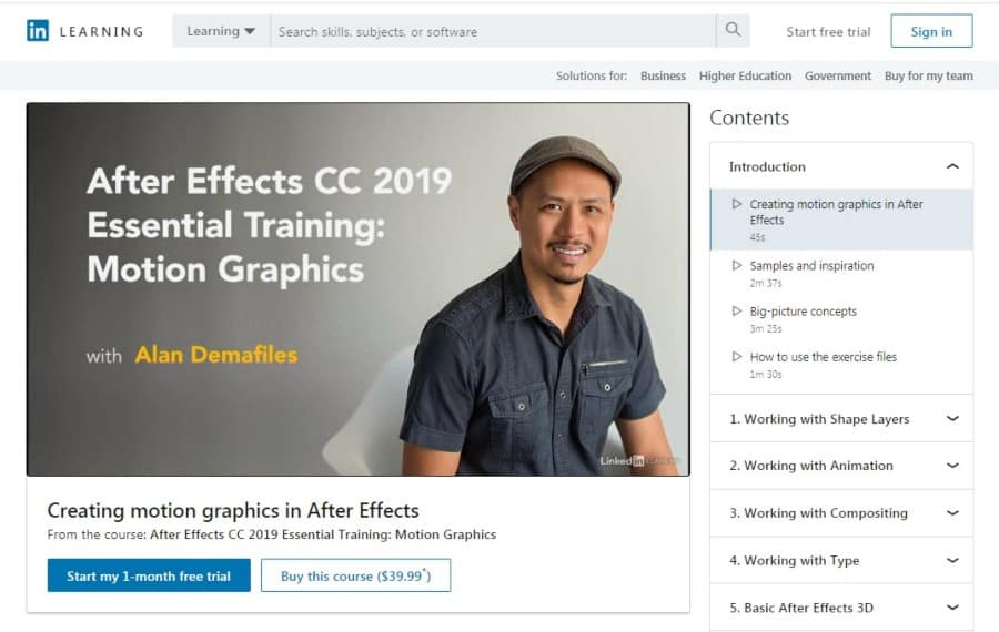 After Effects CC 2019 Essential Training_ Motion Graphics