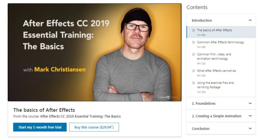 After Effects CC 2019 Essential Training: The Basics