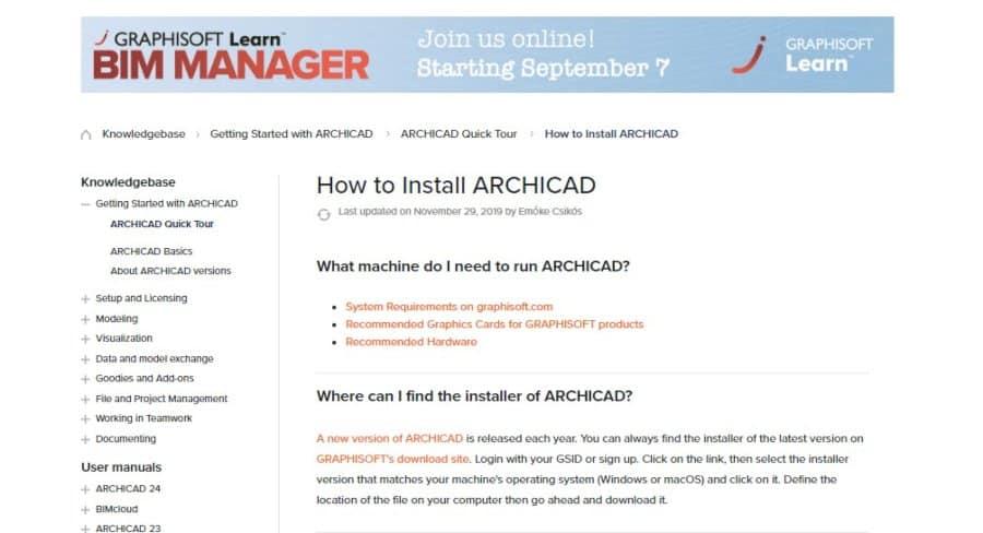 ArchiCAD Help Center